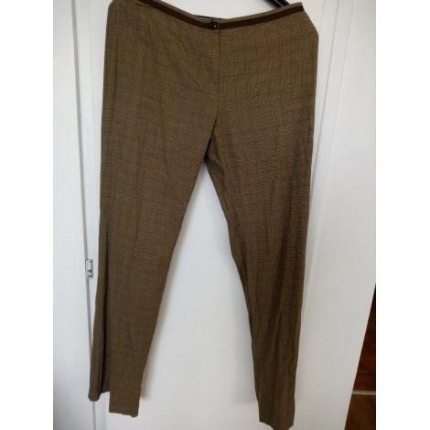 Pantalon droit CLAUDIE PIERLOT Marron