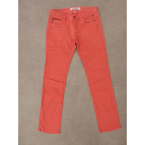 Pantalon droit FREEMAN T PORTER Orange