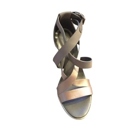 Sandales à talons HOGAN Gris, anthracite