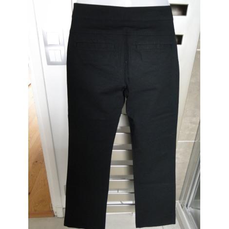 Pantalon évasé NAF NAF Noir