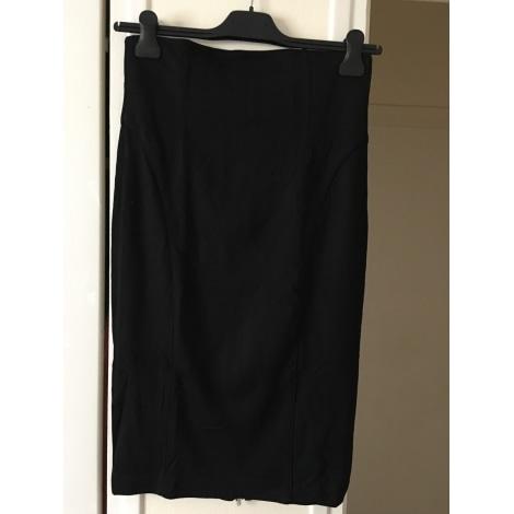 Jupe mi-longue STEPHANEL Noir