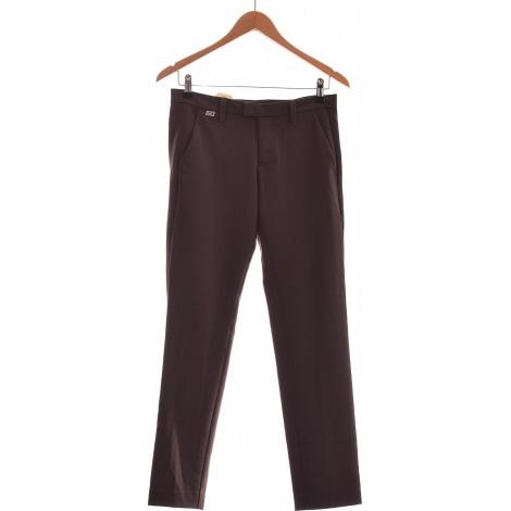 Pantalon droit MISS SIXTY Gris, anthracite