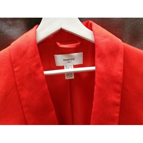 Blazer, veste tailleur MANGO Orange