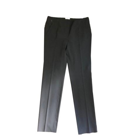 Pantalon droit WOLFORD Noir
