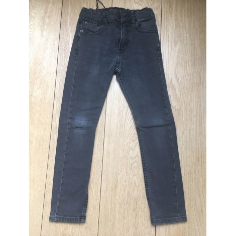 Pantalon FINGER IN THE NOSE Gris, anthracite