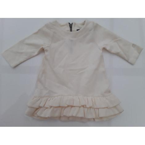 Robe LILI GAUFRETTE Blanc, blanc cassé, écru