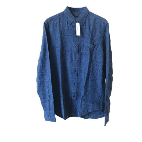Chemise J CREW Bleu, bleu marine, bleu turquoise