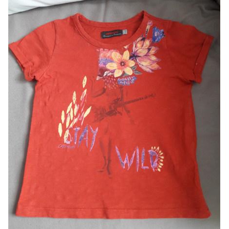 Top, Tee-shirt CATIMINI Rouge, bordeaux