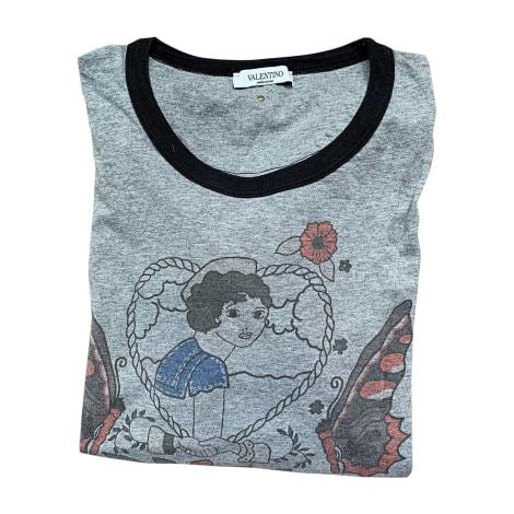 Tee-shirt VALENTINO Gris, anthracite