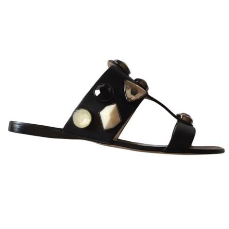 Sandales plates  BCBG MAX AZRIA Noir