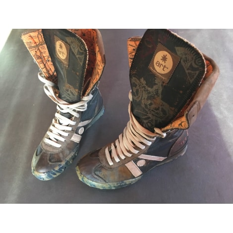 Bottines & low boots plates ART Multicouleur