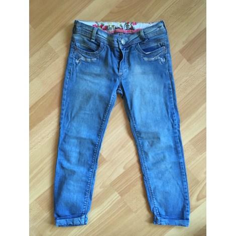 Jean slim  CATIMINI Bleu, bleu marine, bleu turquoise