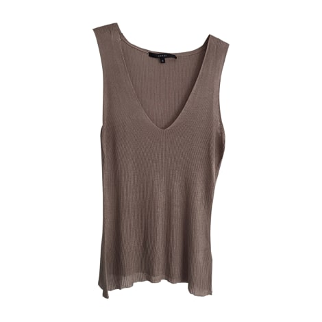 Top, tee-shirt GUCCI Beige, camel