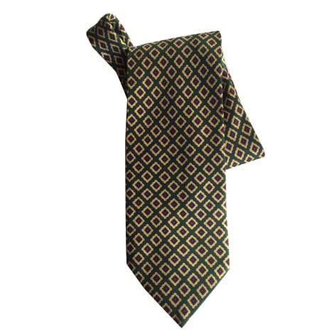 Cravate INÈS DE LA FRESSANGE Kaki