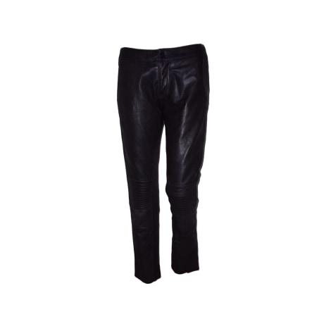 Pantalon droit ZADIG & VOLTAIRE Noir
