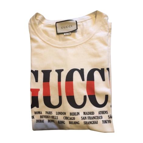 Tee-shirt GUCCI Beige, camel
