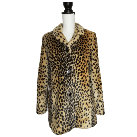 Manteau en fourrure ZARA leopard