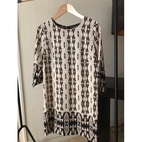 Midi-Kleid MANGO Beige