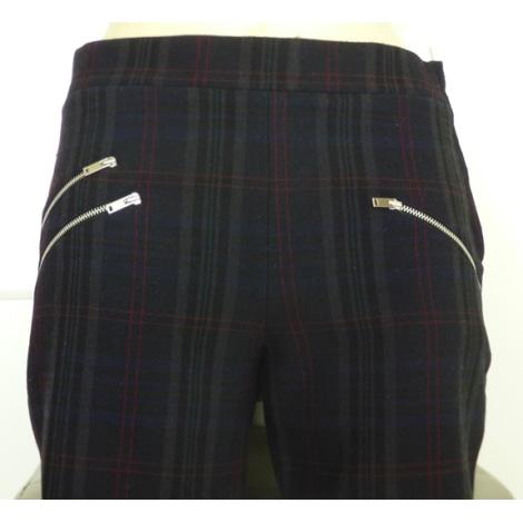 Pantalon droit ZARA Multicouleur