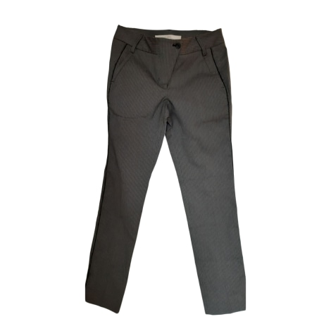 Straight Leg Pants MARITHÉ ET FRANÇOIS GIRBAUD Gray, charcoal