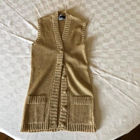 Gilet sans manches LUISA SPAGNOLI Doré, bronze, cuivre