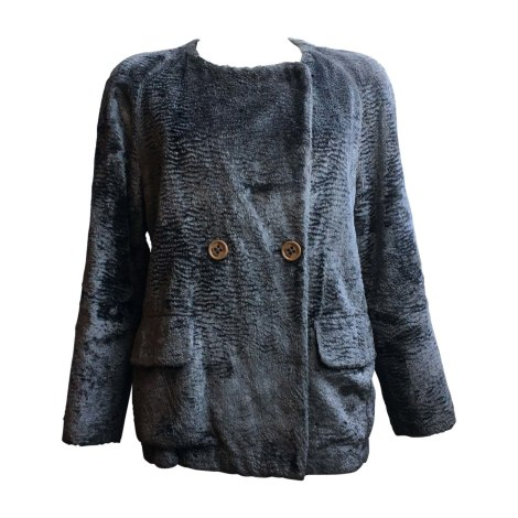 Blouson SEE BY CHLOE Gris, anthracite