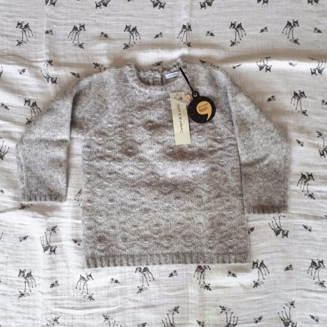 Pull BOUT'CHOU Gris, anthracite