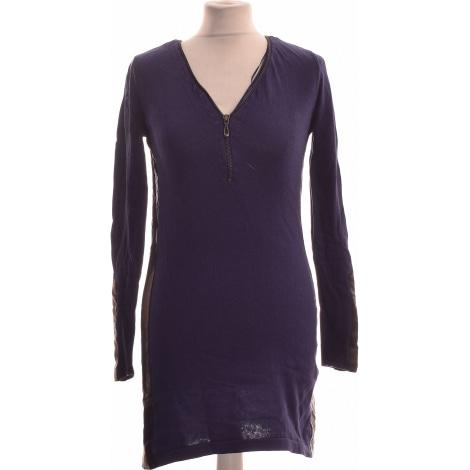 Robe courte MISS CAPTAIN Bleu, bleu marine, bleu turquoise