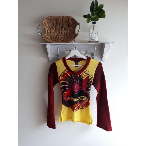 Top, tee-shirt CUSTO BARCELONA Jaune