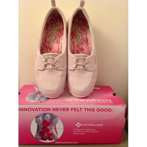 Chaussures de sport SKECHERS Blanc, blanc cassé, écru