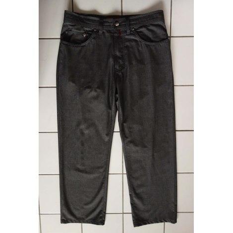 Jeans droit PIERRE CARDIN Gris, anthracite