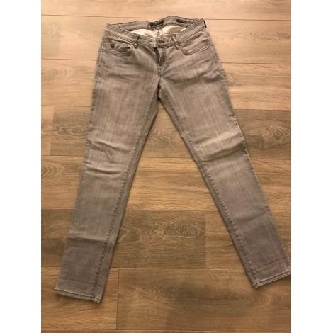 Jeans droit MAISON SCOTCH Gris, anthracite