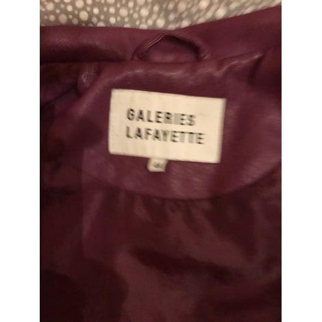 Veste GALERIES LAFAYETTE Violet, mauve, lavande