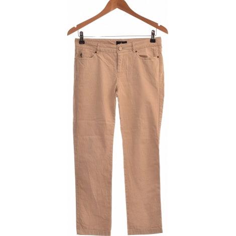 Jeans droit ONE STEP Marron