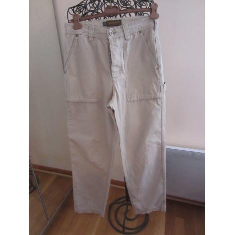 Pantalon large TIMBERLAND Beige, camel