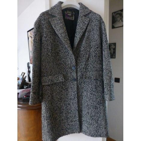 Manteau SINÉQUANONE noir et blanc