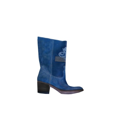 Bottes à talons ELISA CAVALETTI Bleu, bleu marine, bleu turquoise