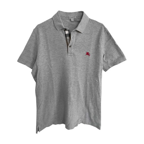 Polo BURBERRY Gris, anthracite