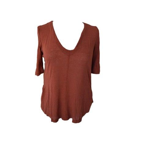 Top, tee-shirt THE KOOPLES Orange
