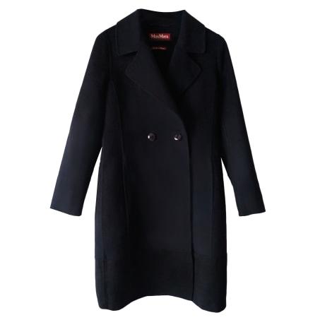 Manteau MAX MARA Bleu, bleu marine, bleu turquoise