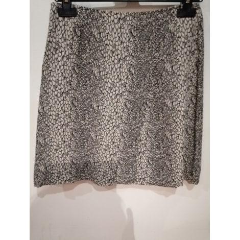 Jupe courte 1.2.3 noire&beige
