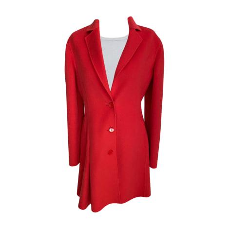Manteau DIOR Corail /rouge