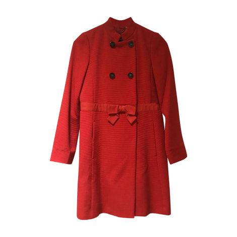 Manteau MARC JACOBS Rouge, bordeaux