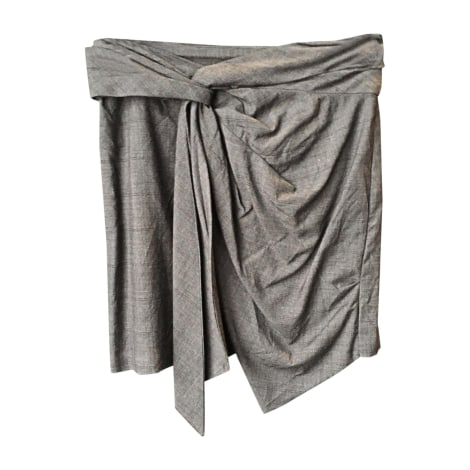 Mini Skirt ISABEL MARANT Gray, charcoal