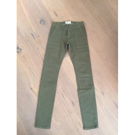 Pantalon slim, cigarette CURRENT/ELLIOTT Kaki