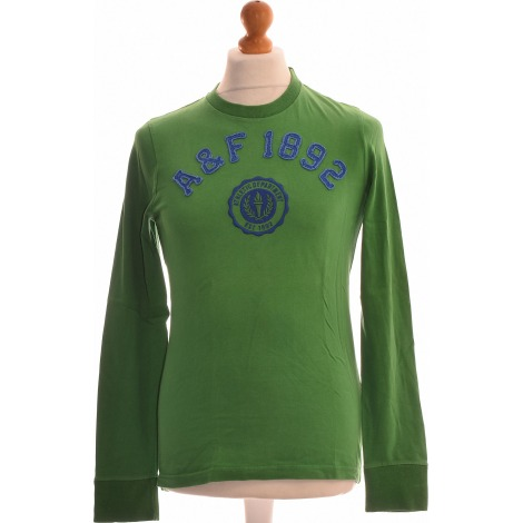Tee-shirt ABERCROMBIE & FITCH Vert
