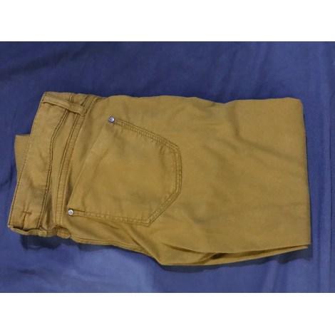 Pantalon slim, cigarette COP-COPINE Jaune