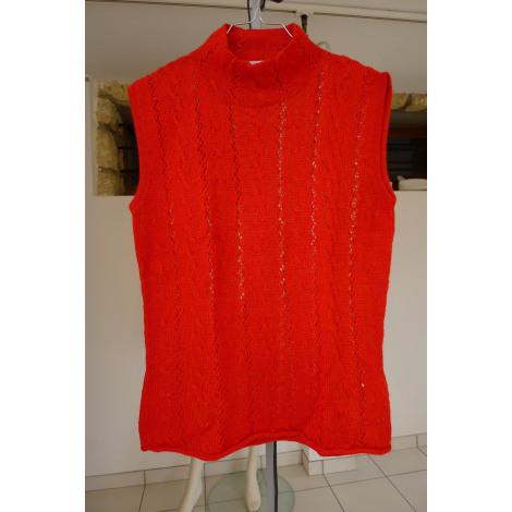 Top, tee-shirt ALPACA STUDIO Rouge, bordeaux