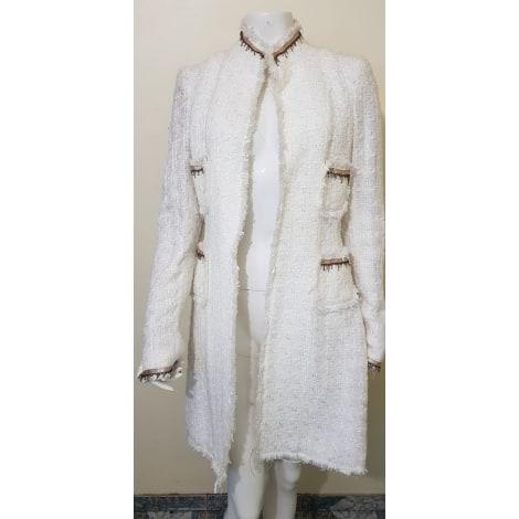Manteau VANITA ROSA Blanc, blanc cassé, écru