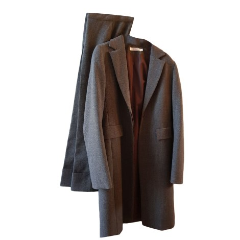 Tailleur pantalon COMPTOIR DES COTONNIERS Gris, anthracite